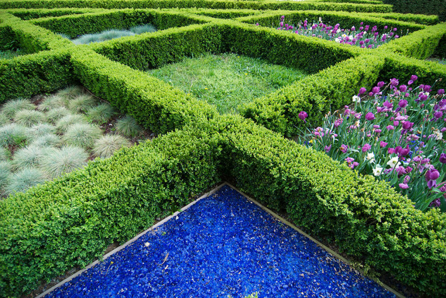 41 incredible garden hedge ideas for your yard photos using small hedges to create the lines of this gridded garden bed adds definition and structure workwithnaturefo