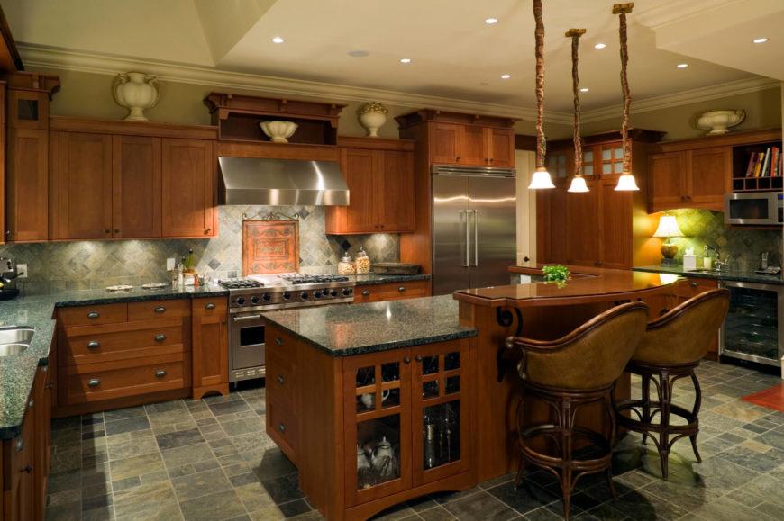 84 custom luxury kitchen island ideas designs pictures for Kitchen ideas real estate