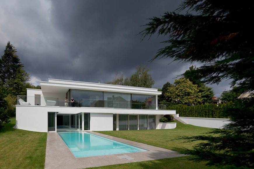 Light filled villa von stein by philipp architekten - Philipp architekten ...
