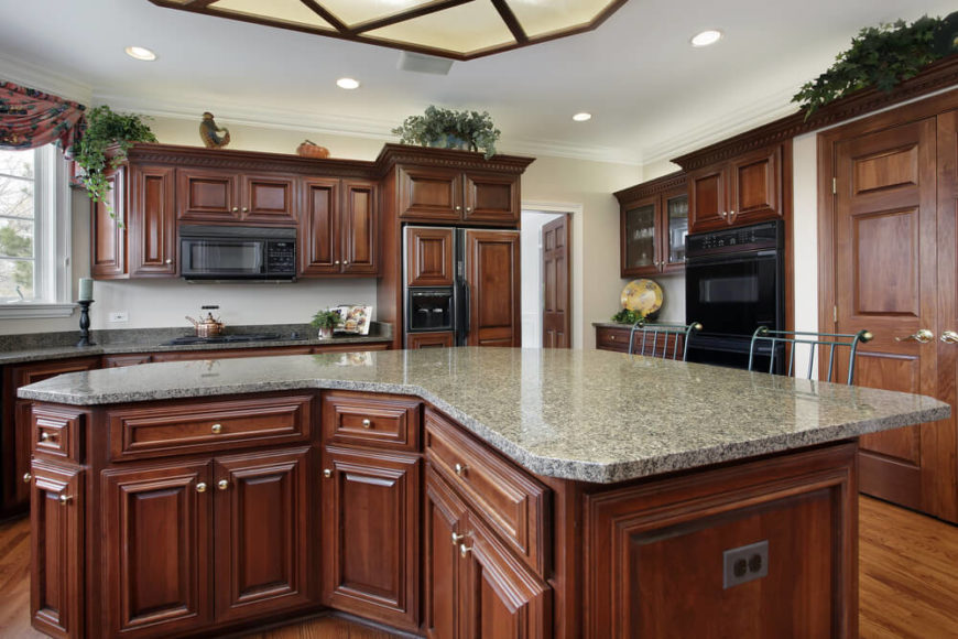 Kitchen Wall Colors With White Cabinets And Black Countertops