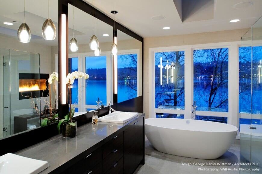 Pleasing 30 Master Bathrooms With Free Standing Soaking Tubs Pictures Largest Home Design Picture Inspirations Pitcheantrous