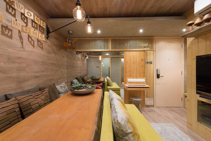 Brilliant Compact Hong Kong Public Housing Project by PplusP Designers