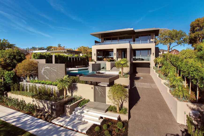 Eye-Popping Burgess Street project by C.O.S. Design