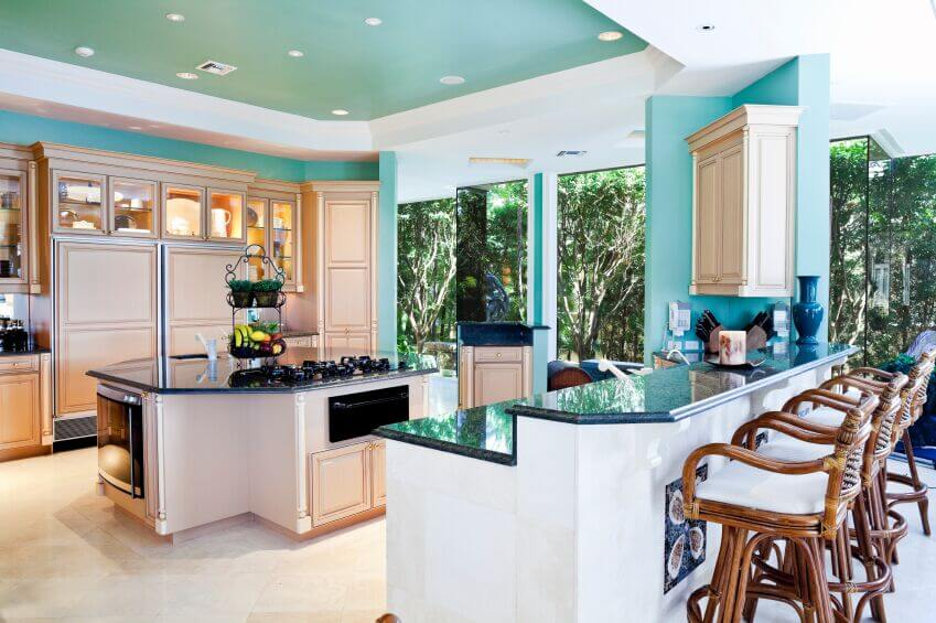 This Refreshingly Bright Kitchen Is A Fun Example Of How To Use Color And Keep Your