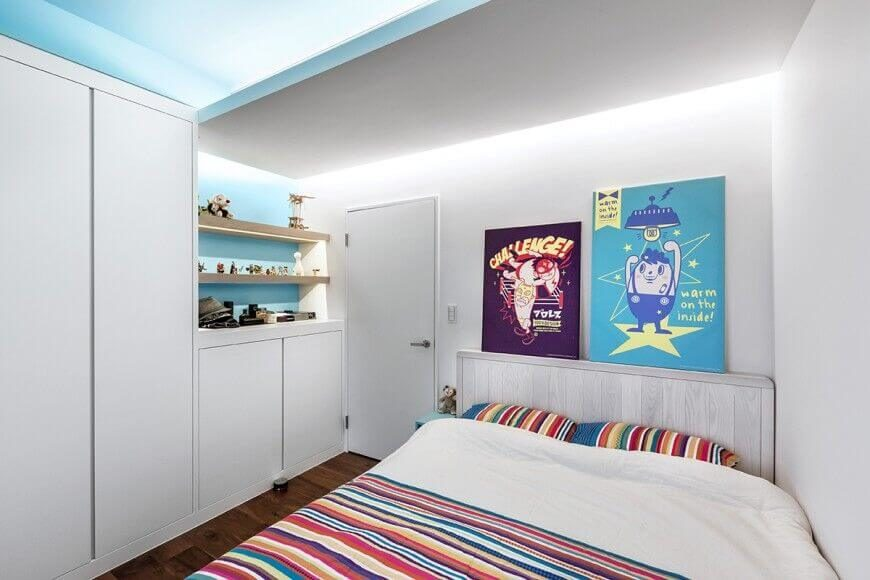 Awe Inspiring 15 Bespoke Bedrooms With Bookshelves Pictures Largest Home Design Picture Inspirations Pitcheantrous