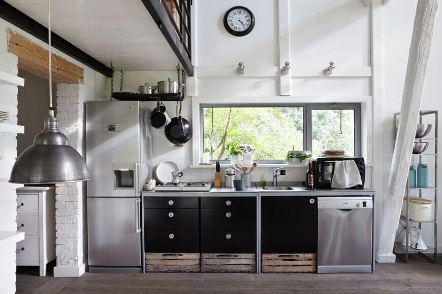 15 Kitchens With Perfect Pot Racks Pictures