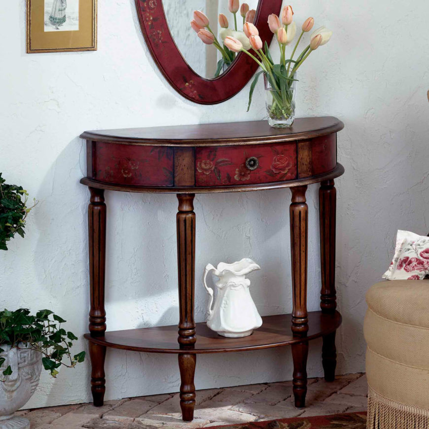 Top 25 types of foyer tables for storage or as accents - Table vitroceramique 3 foyers ...