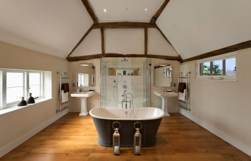 Rustic home decor bathroom - 30 Fantastic Bathrooms With Walk In Showers Pictures