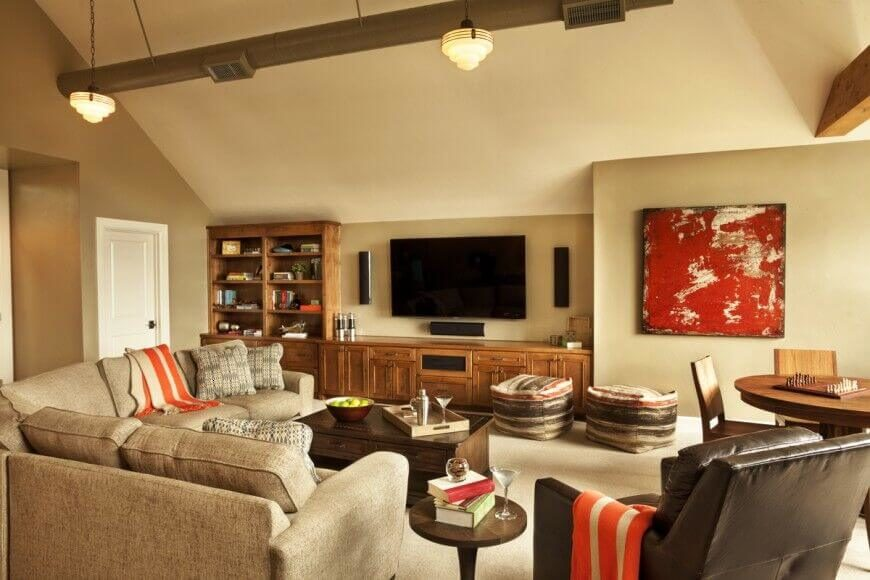 6 decor tips for a cozy family room mosaik blog. Black Bedroom Furniture Sets. Home Design Ideas