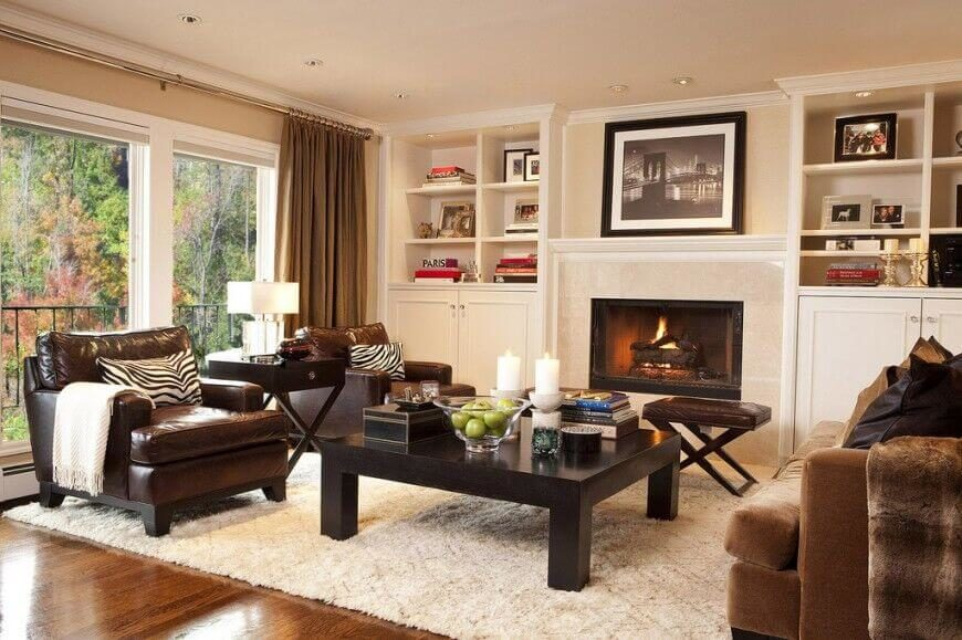 Living Room Cozy Cool Design