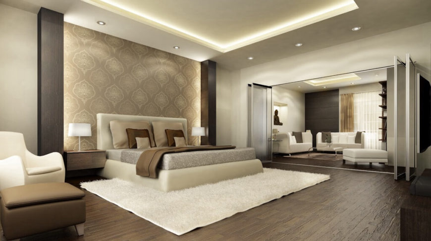 accent walls in bedroom. 24z  bedroom accent wall 24 Comfortable Bedrooms with an Interesting Accent Wall DETAILED
