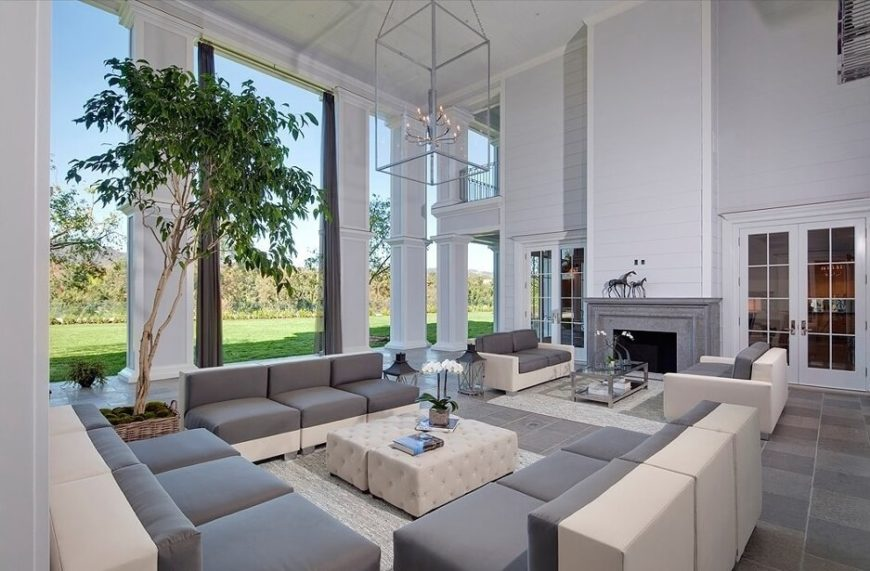 32 Lively Living Rooms With Houseplants Great Pictures