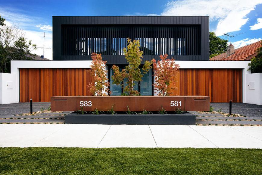 Elegant modern Inkman Road home by C.O.S. Design.