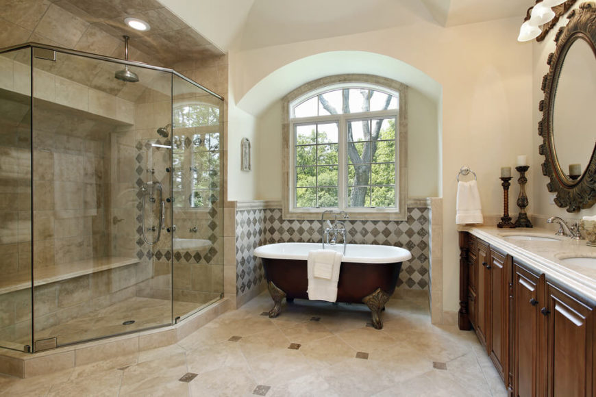 Welcome To Our Gallery Of 27 Relaxing Bathrooms Featuring Elegant Clawfoot  Tubs!