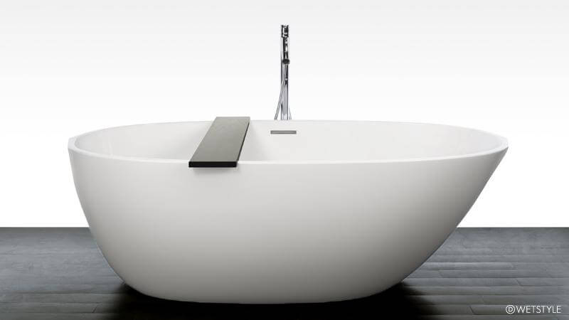 The BBE O1 Bathtub From WETSTYLEu0027s Be Collection Is Inspired By Nature, The  Asymmetrical Shape