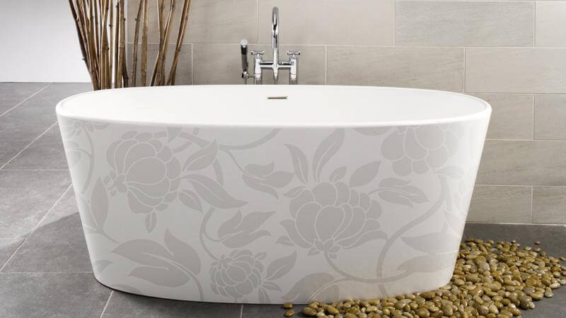 Superbe The Third Of The IMAGE In Motif Series Is The Floral Tub, Which Celebrates