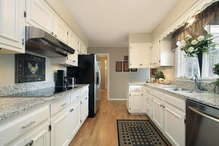 44 grand rectangular kitchen designs pictures - Rectangle kitchen ideas ...
