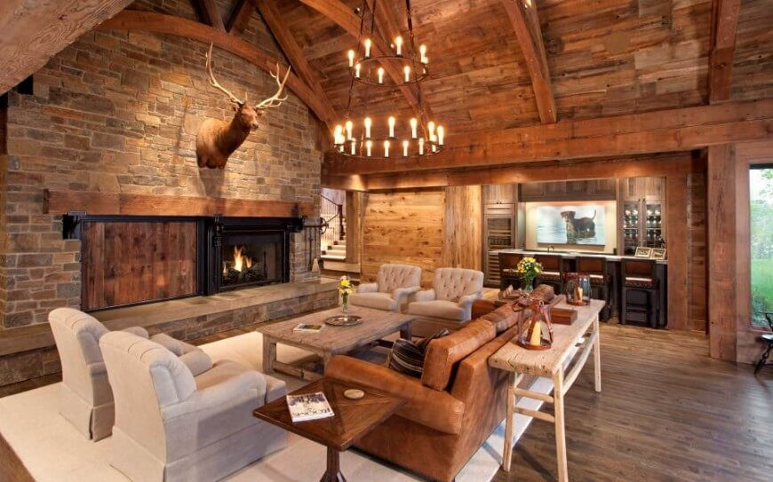 27 Attention Grabbing Living Room Wall Decorations PICTURES