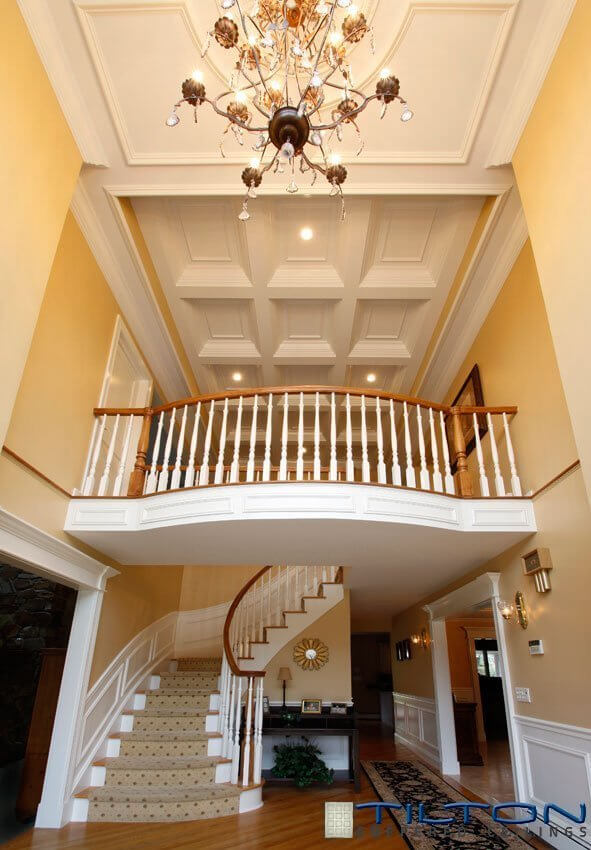 Two Story Foyer Paneling : Gorgeous foyers with wainscoting
