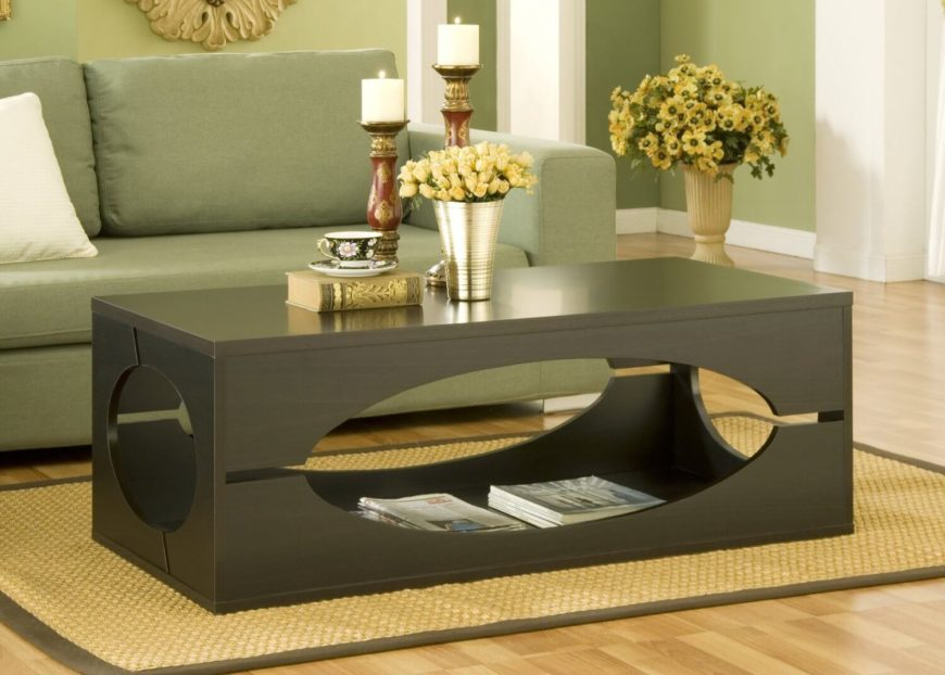 27 incredible man cave coffee tables Unique side table ideas