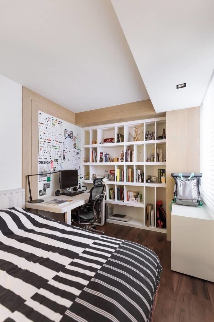 Prime 30 Stunning Bedrooms With Stylish Desks Or Office Spaces Largest Home Design Picture Inspirations Pitcheantrous