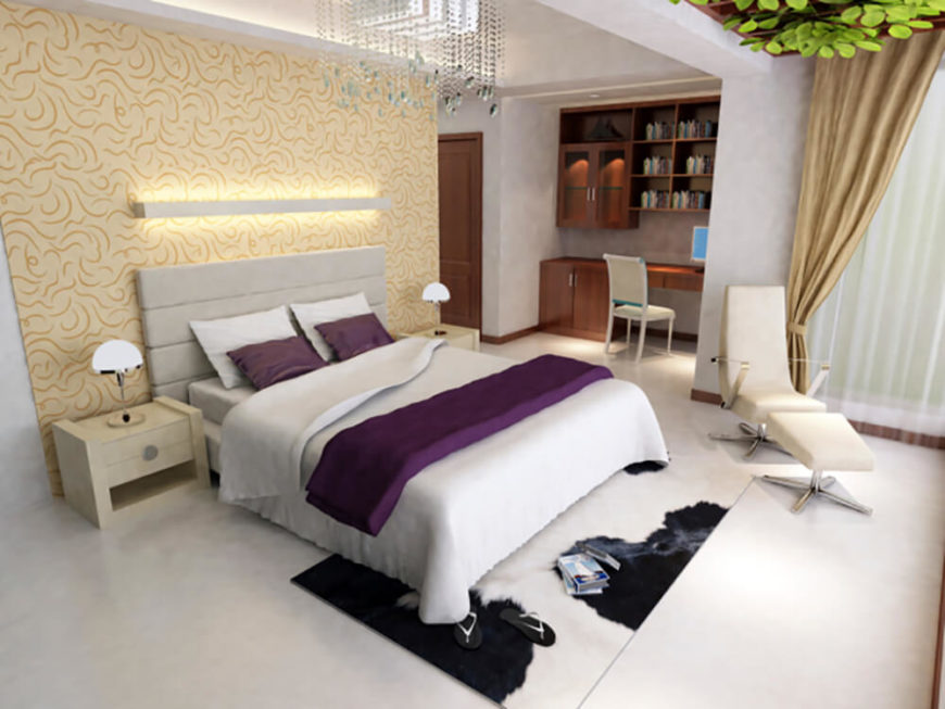Fabulous 30 Stunning Bedrooms With Stylish Desks Or Office Spaces Largest Home Design Picture Inspirations Pitcheantrous