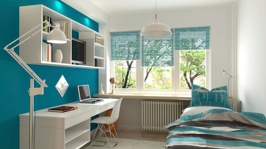 30 Stunning Bedrooms With Stylish Desks Or Office Spaces
