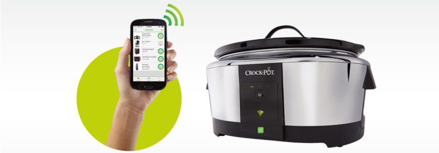 17a. Smart home appliances, crock-pot.com, Crock Pot