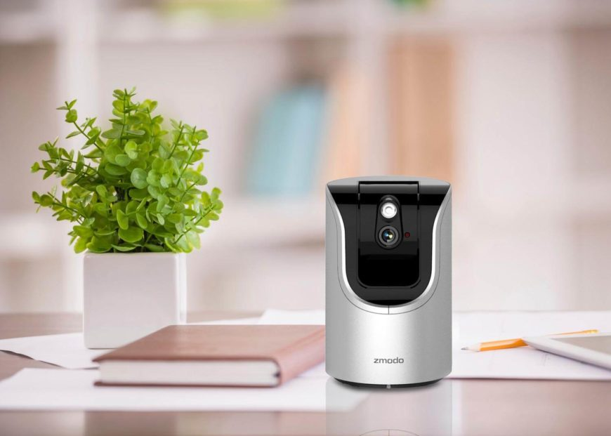 This smart camera is designed to offer an easy way to check in on home while you're out and about. It supports microSD storage up to 64gb, allowing you to record up to a full week's worth of video, activated via motion detector. Like other smart cameras, it can send alerts directly to your smartphone, in addition to offering on-demand remote viewing and two-way audio communication.