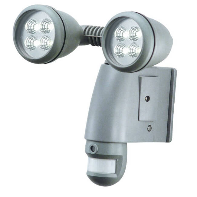 While motion sensor equipped lights have been around for a couple decades, this model evolves the concept to the next level with a built-in camera and SD card storage for saving and playback of video. Shine a bright, LED-sourced light on anyplace around your home for security, with an instantly recording camera along for the ride.