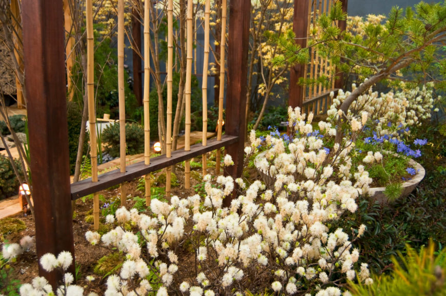 21 bamboo fence ideas for residential houses if you arent overly concerned with privacy and just prefer the decorative element of workwithnaturefo