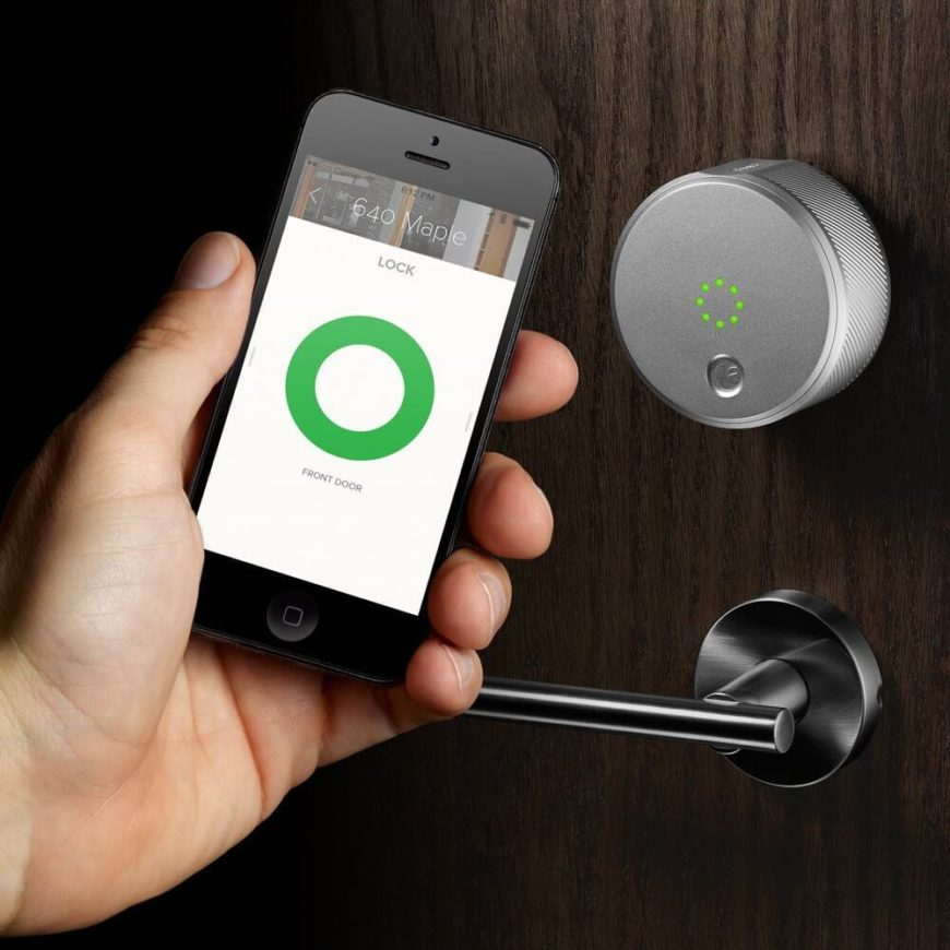 This Sleek Device Allows You To Lock And Unlock Your Doors, Create Virtual  Keys For