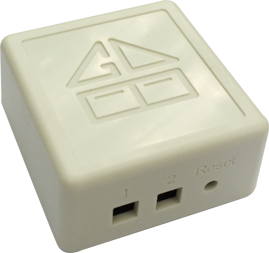 This simple, discreet, and fantastically tiny device will upgrade virtually any existing garage door opener to the world of smart home devices. Its small construction belies a powerful wireless function that lets you control the garage door from anywhere there's an internet connection, via your Apple or Android smartphone and a free accompanying app. The device can even act as its own wifi access point in the event that it needs to be placed outside of your home router's range.