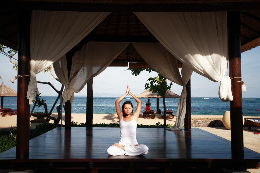 Yoga gazebo