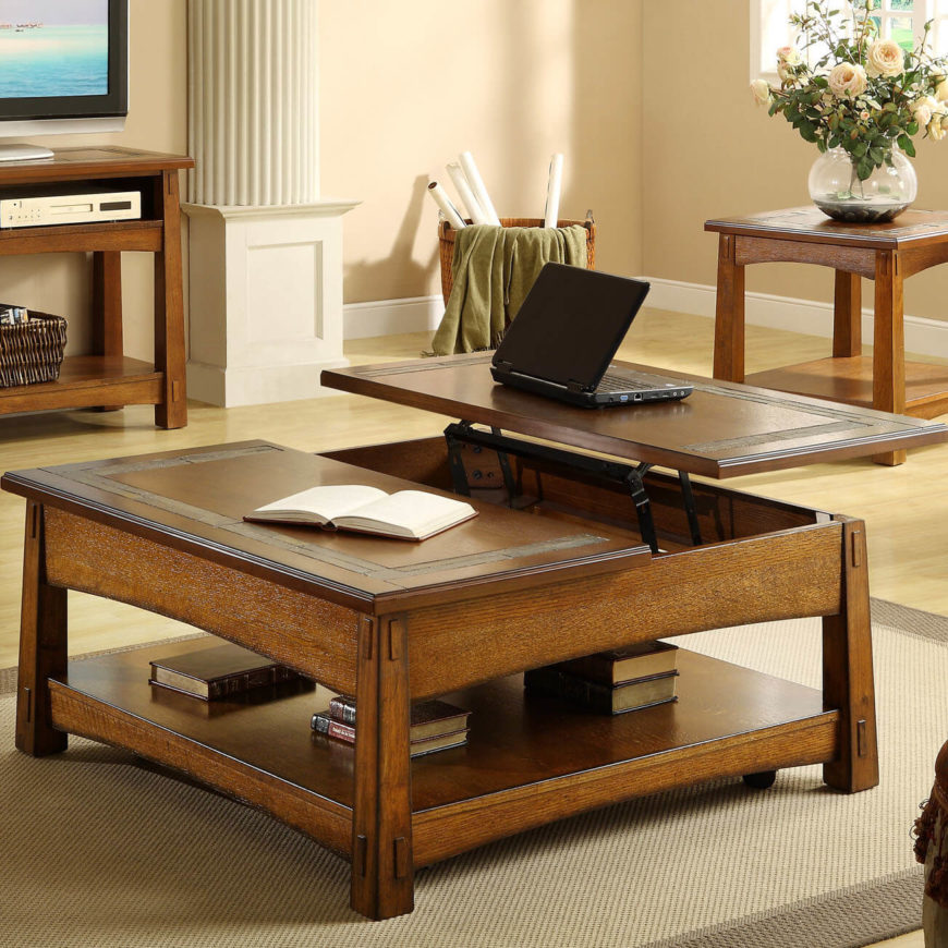 living room coffee table ideas. Craftsman style works superbly when it comes to coffee tables  They re often the 28 Great Living Room and Family Design Ideas