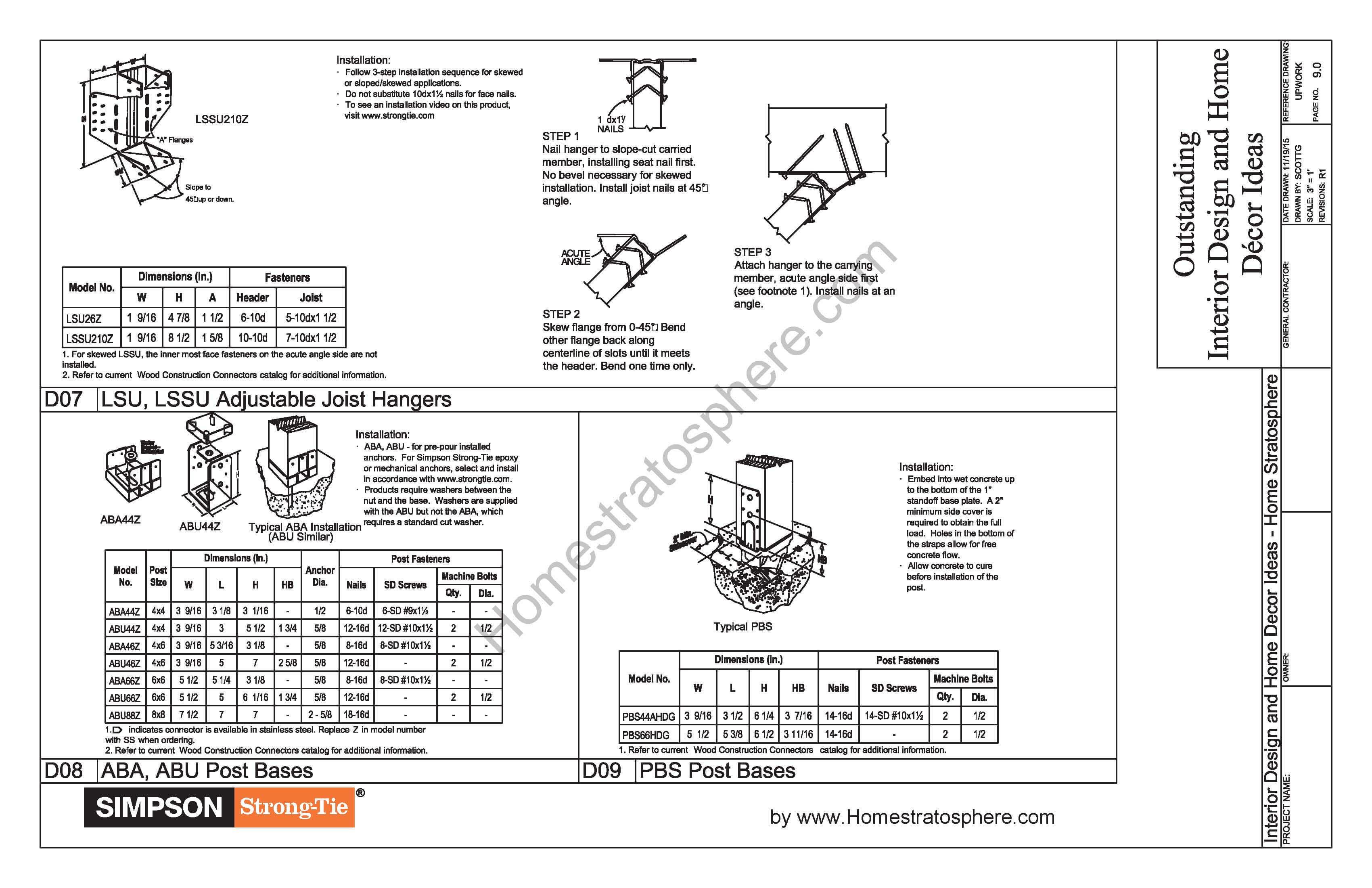 Free 12' X 16' Deck Plan Blueprint (with PDF Document Download)