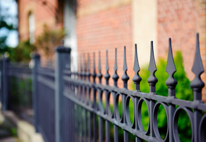 Wrought Iron Fence Design 32 elegant wrought iron fence ideas and designs the quintessential wrought iron fence design simple elegant and classy workwithnaturefo