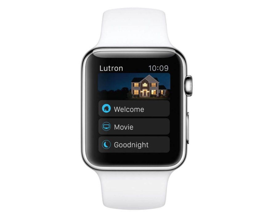 The cool factor of Apple Watch compatibility can't be understated. Imagine tapping on your watch, and seeing the lights throughout your home come on.