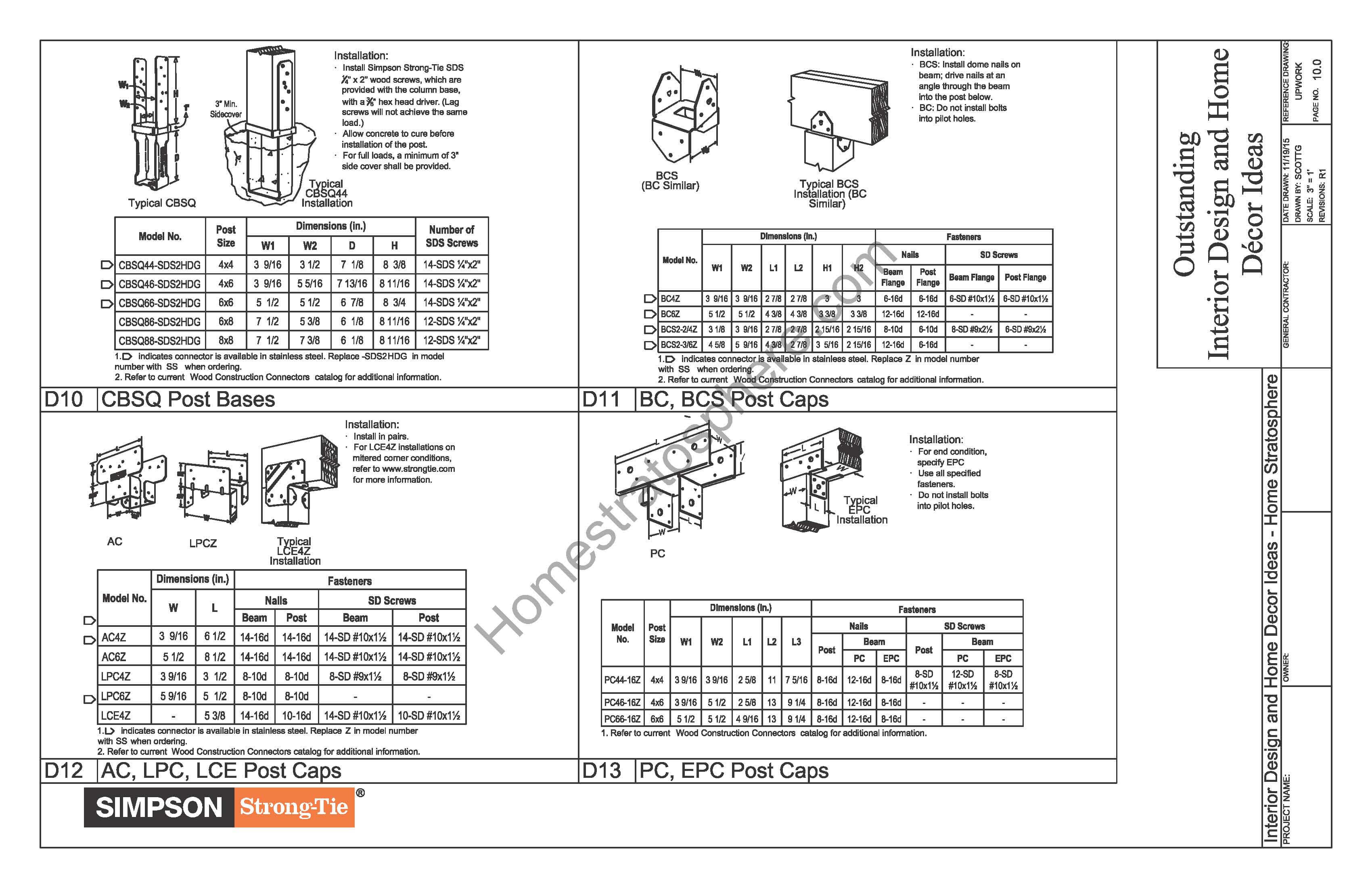 Free Ground Flat Deck Plan With Pdf Blueprint Download