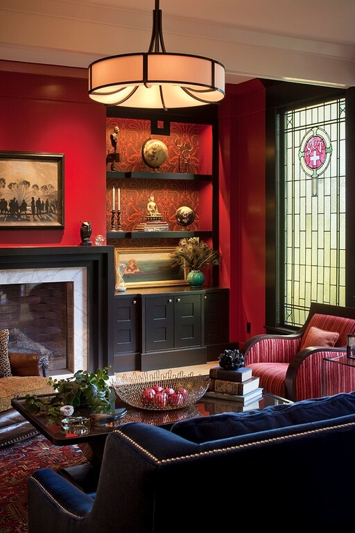 Source: Zillow Digs™ Hereu0027s Another Rich Chinese Inspired Asian Design. The  Warm Light Enhances The Rich Reds,