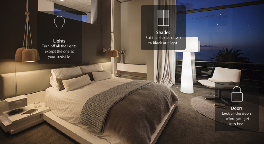 Apple Homekit is designed to work through the apps that control your individual smart home devices, enabling the apps to connect, resulting in a comprehensive network that can be controlled from one place.