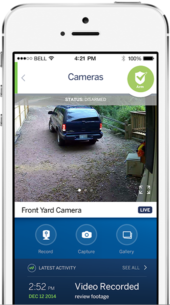 Focused on security, this app is a bit more direct and to the point than many others on our list. It's designed to activate and deactivate your ADT security system, as well as notify you of broken sensors, and any time your system has not been armed. With added video surveillance, you'll be able to see live video of your home from anywhere with an internet connection. Even better, you can set up motion sensors to trigger recording and send clips directly to your smartphone for review.