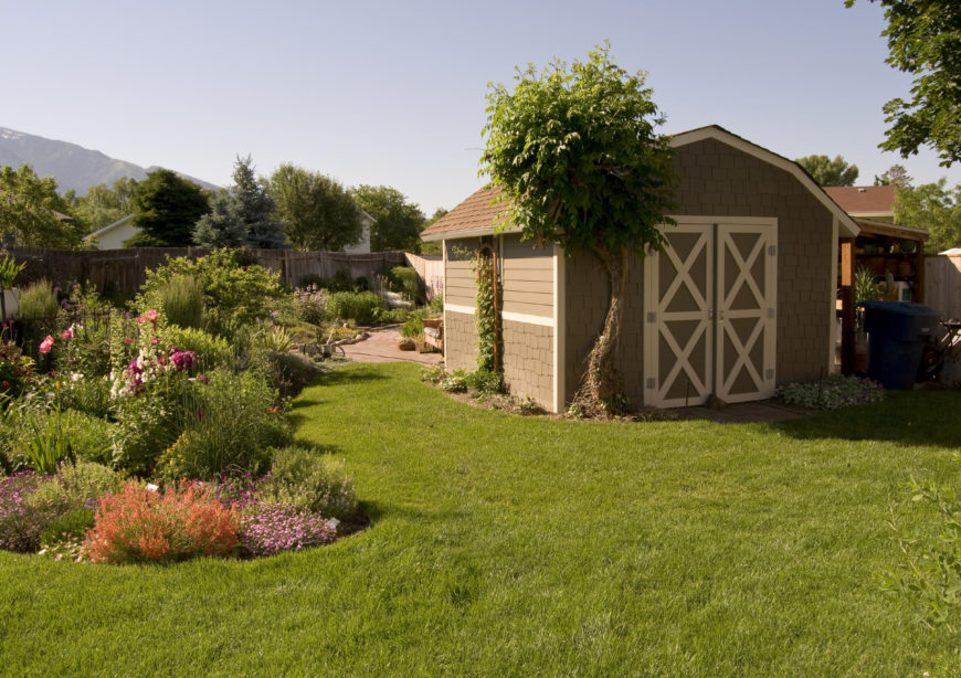 22 Beautiful Backyard Sheds to Meet Your Storage Needs
