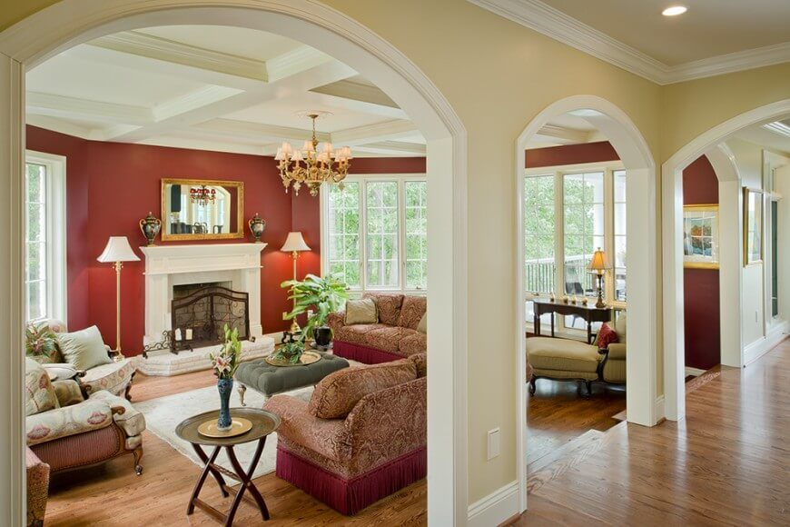 Warm Tones Living Room Ideas: 28 Wonderful Living Room Color Ideas