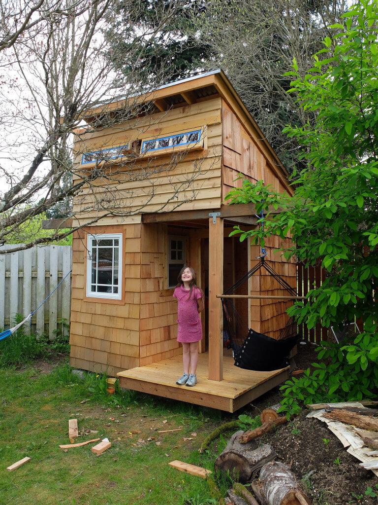 45 Awesome Backyard Kids Playhouse Ideas Photos