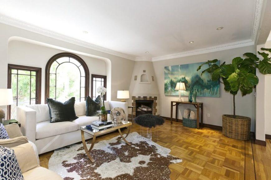 22 stunning living room flooring ideas for Well designed bedrooms