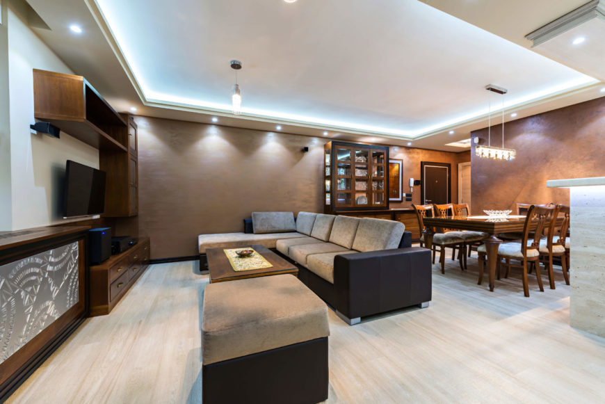 40 bright living room lighting ideas for Recessed lighting for living room good idea