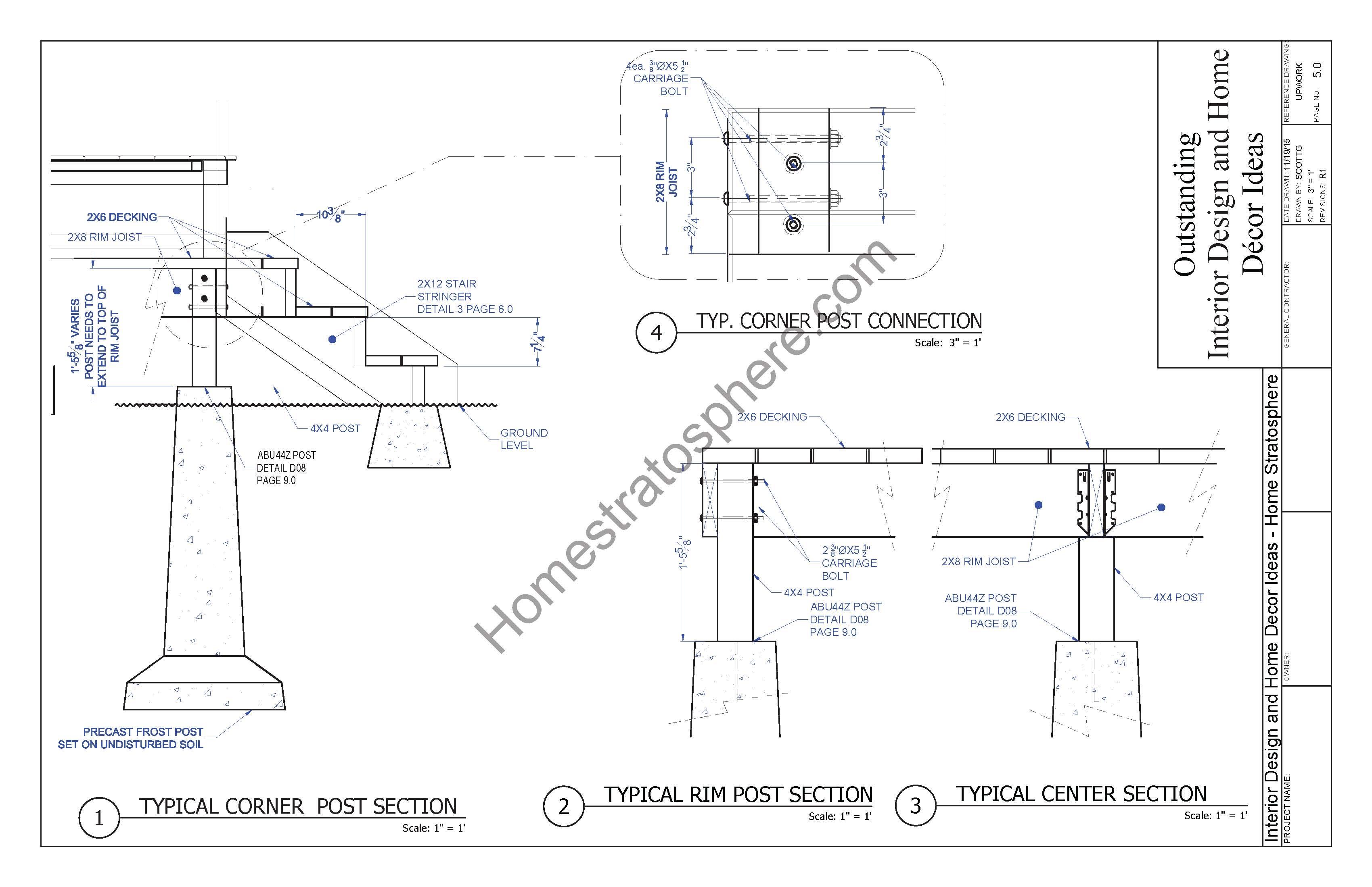 Hot Tub Deck Design Plan (Free PDF Download