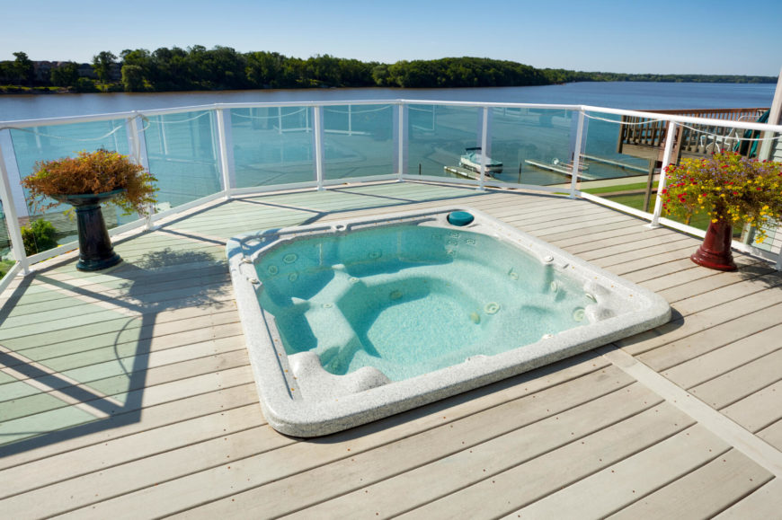 34 Soothing Hot Tub Ideas