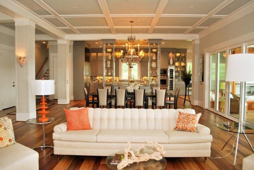 When you have a lot of design elements that you want to accentuate  you can. 35 Lovely Living Room Sofa Ideas